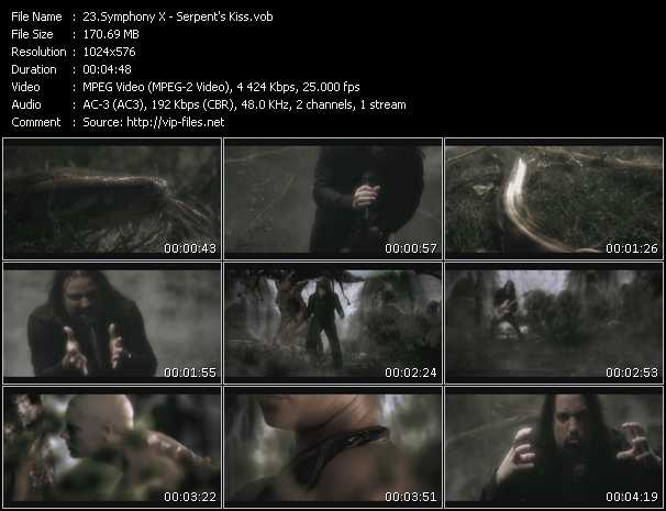Symphony X video screenshot
