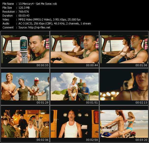 Mercury4 video screenshot