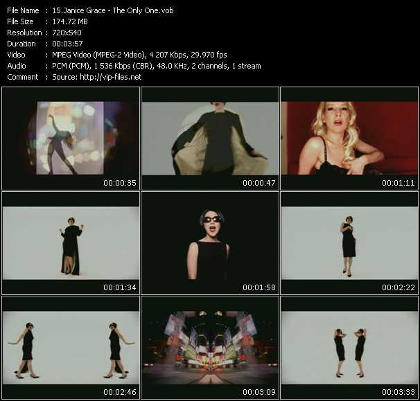 Janice Grace video screenshot