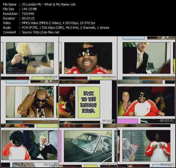 London Mc video screenshot