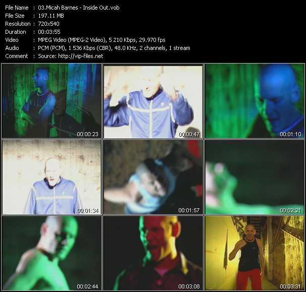 Micah Barnes video screenshot
