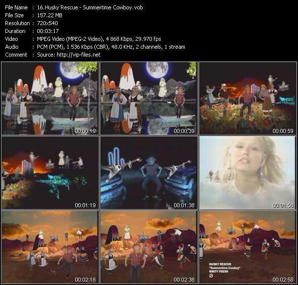 Husky Rescue video screenshot