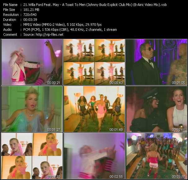 Willa Ford Feat. Lady May video screenshot