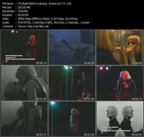 Death Before Dancing video screenshot