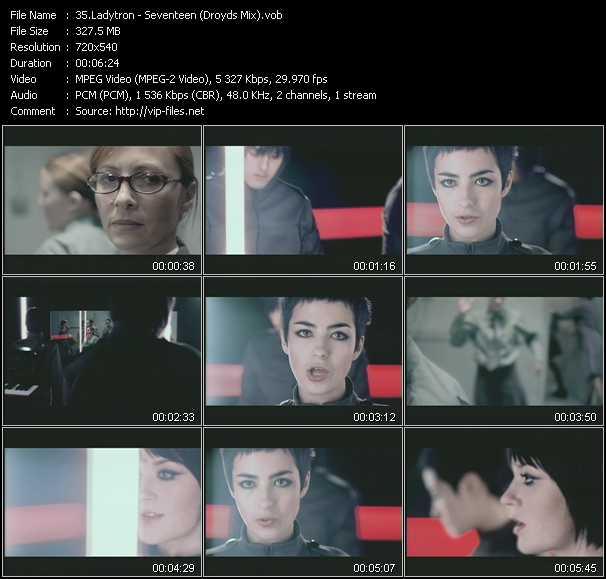 Ladytron video screenshot