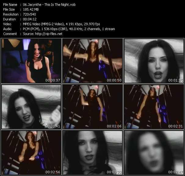 Jacynthe video screenshot