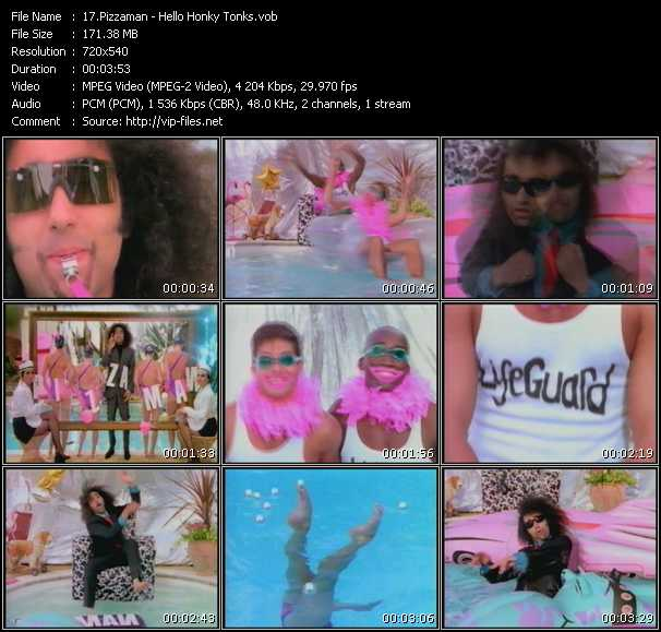 Pizzaman video screenshot