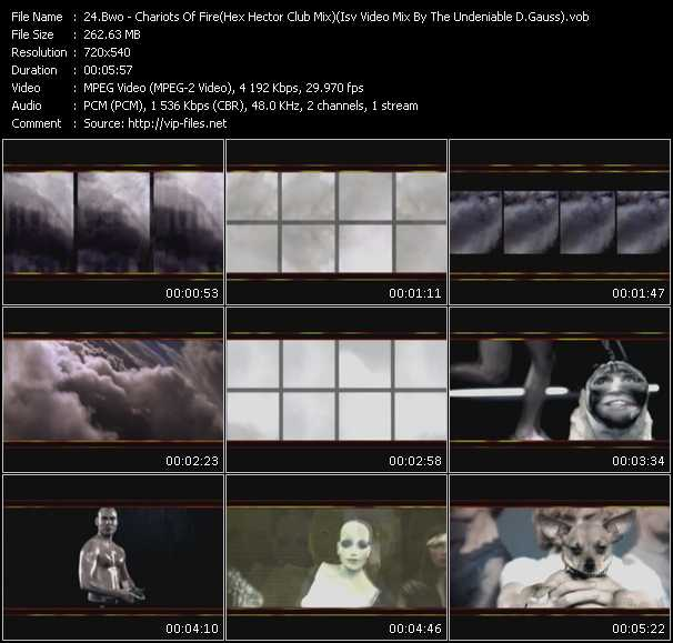 Bwo (Bodies Without Organs) video screenshot