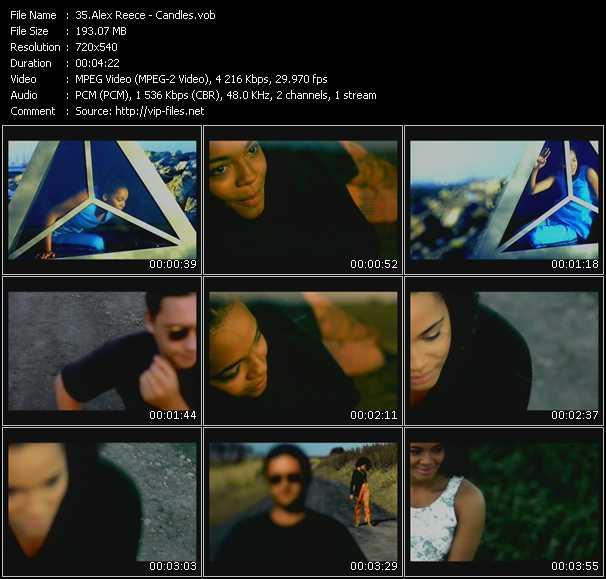 Alex Reece video screenshot