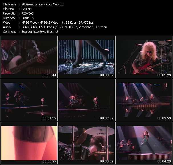 Great White video screenshot