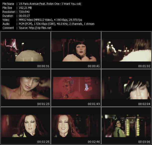 Paris Avenue Feat. Robin One video screenshot