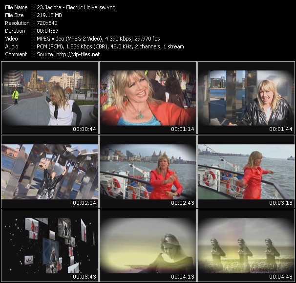 Jacinta video screenshot