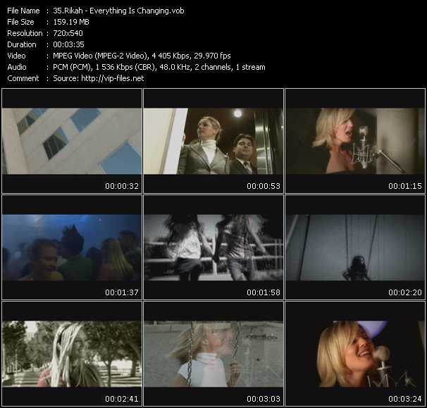 Rikah video screenshot