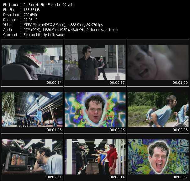Electric Six video screenshot