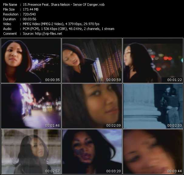 Presence Feat. Shara Nelson video screenshot