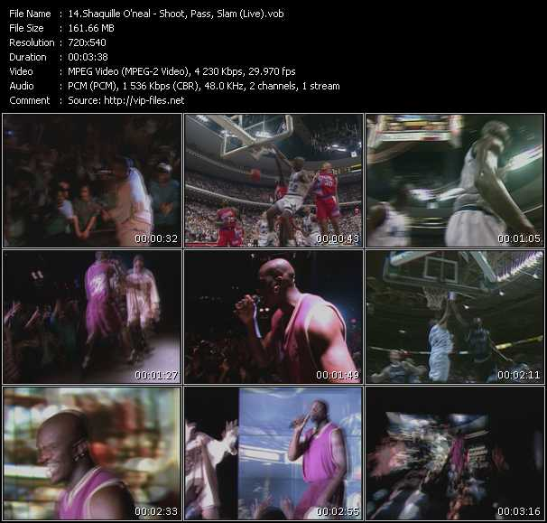 Shaquille O'Neal video screenshot