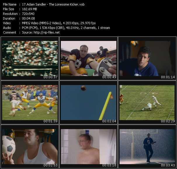 Adam Sandler video screenshot