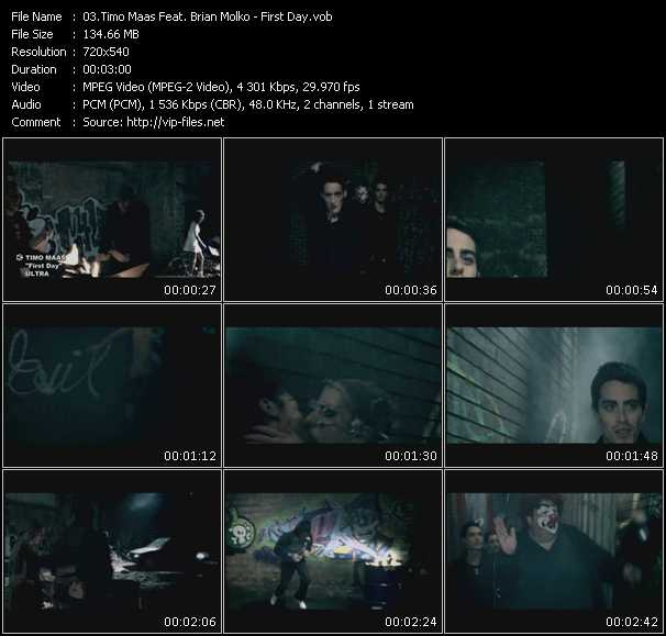 Timo Maas Feat. Brian Molko video screenshot