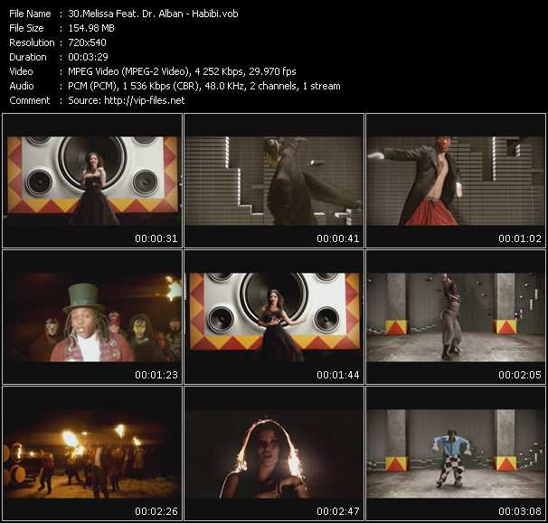 Melissa Feat. Dr. Alban video screenshot