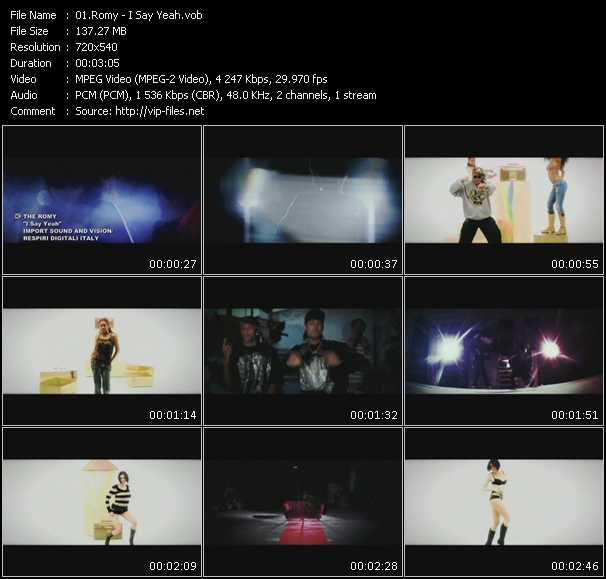 Romy video screenshot