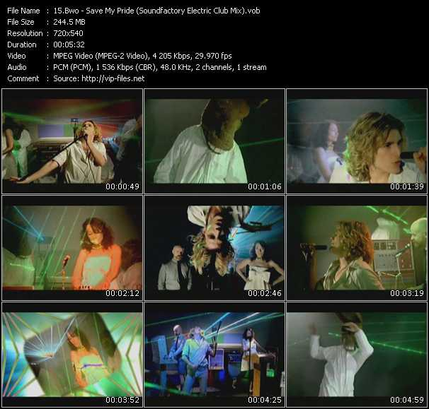 video Save My Pride (Soundfactory Electric Club Mix) screen