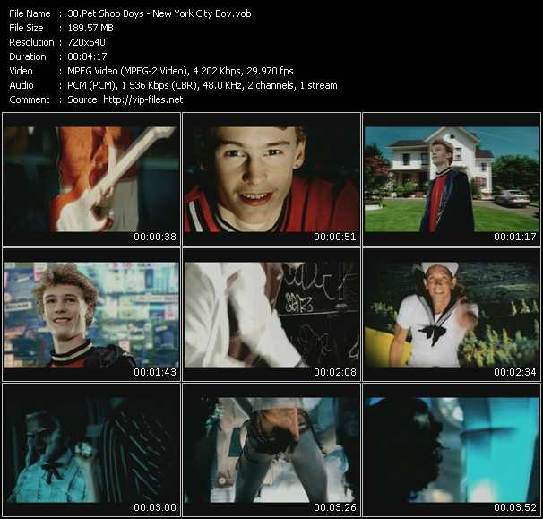 video New York City Boy screen