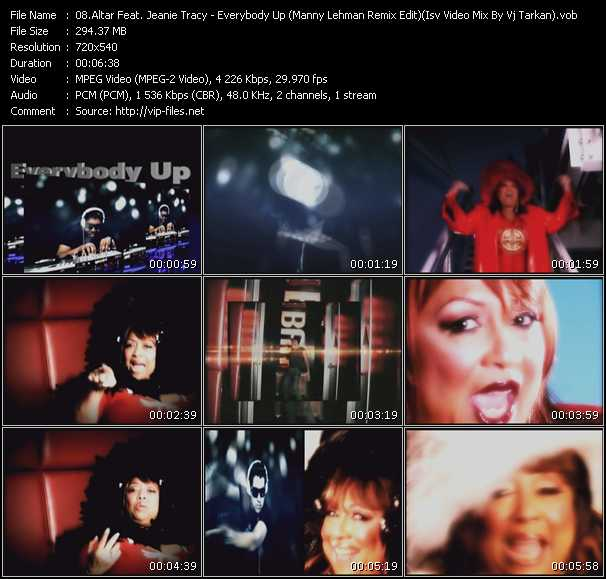 Altar Feat. Jeanie Tracy video screenshot