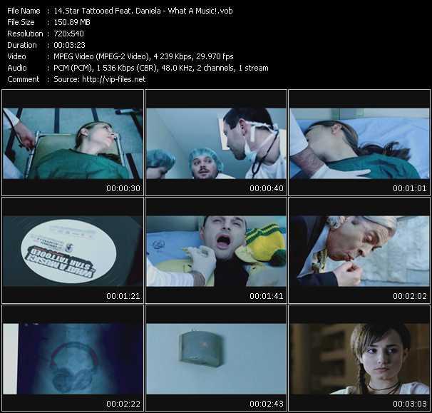 Star Tattooed Feat. Daniela video screenshot