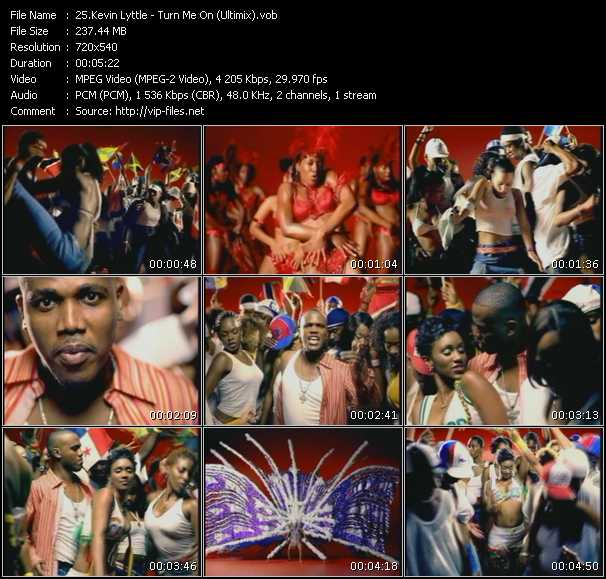 Kevin Lyttle video screenshot