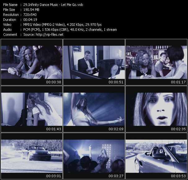 Infinity Dance Music video screenshot