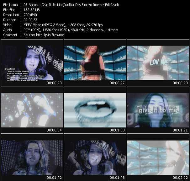 video Give It To Me (Radikal Dj's Electro Rework Edit) screen