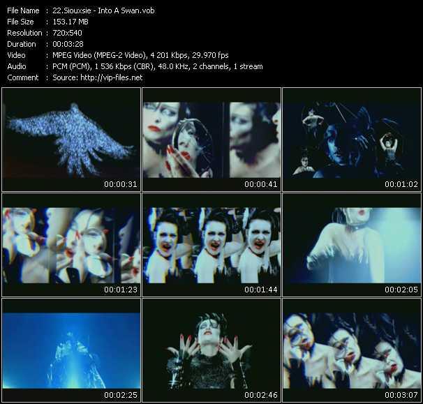 Siouxsie video screenshot