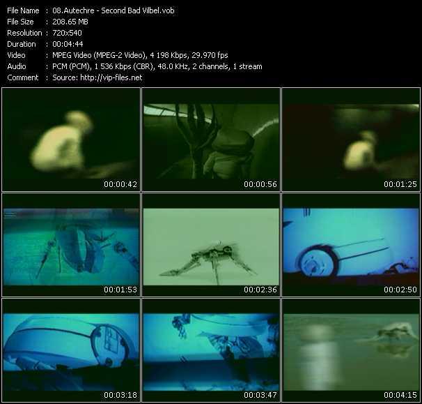 Autechre video screenshot