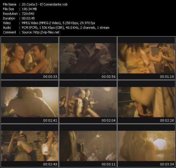 Costa S video screenshot