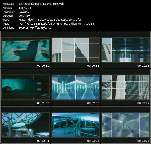 Azzido Da Bass video screenshot