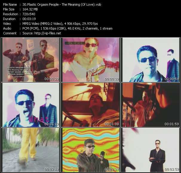 Plastic Orgasm People video screenshot