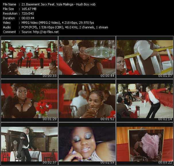 Basement Jaxx Feat. Vula Malinga video screenshot