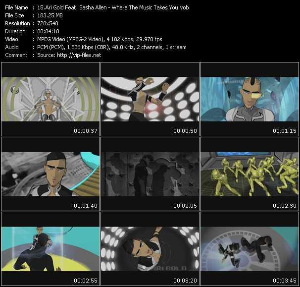 Ari Gold Feat. Sasha Allen video screenshot