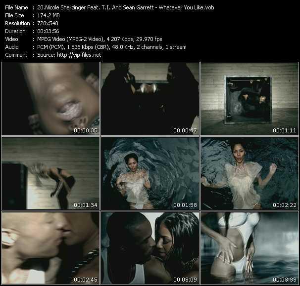 Nicole Scherzinger Feat. T.I. And Sean Garrett video screenshot