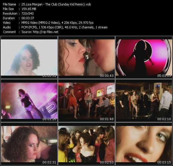 Lisa Morgan video screenshot