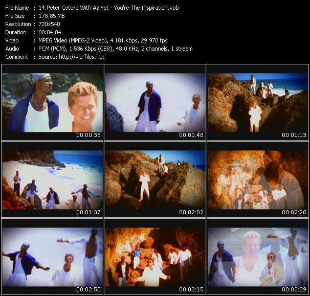 Peter Cetera With Az Yet video screenshot