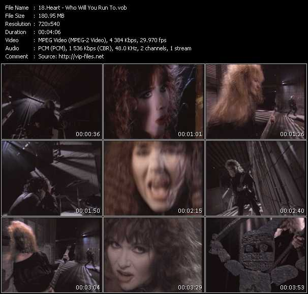 Heart video screenshot