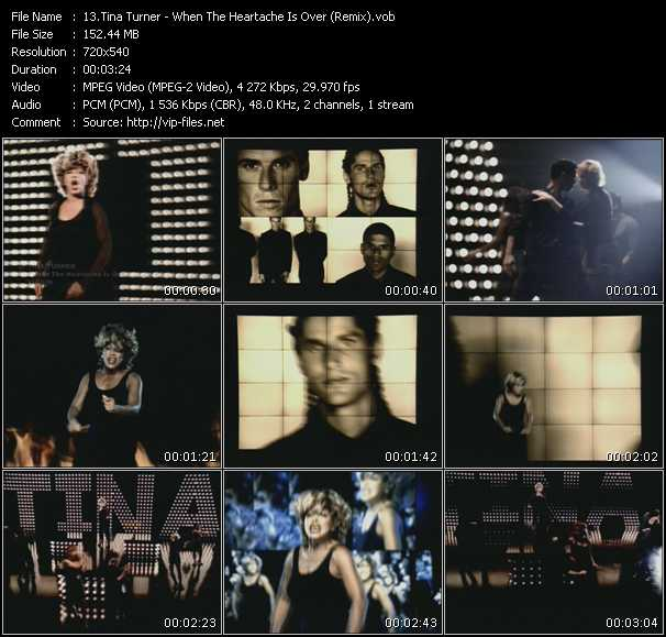 video When The Heartache Is Over (Remix) screen