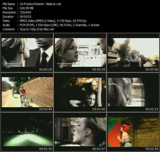 Franka Potente video screenshot
