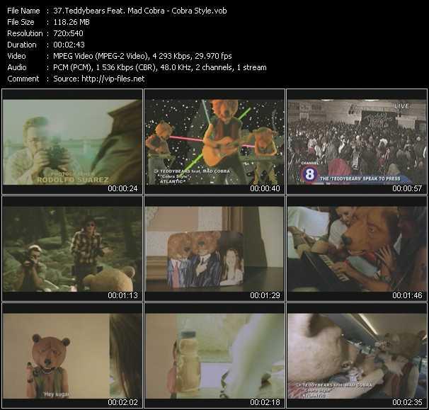 Teddybears Feat. Mad Cobra video screenshot