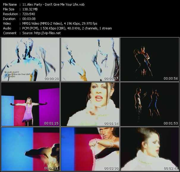Alex Party video screenshot