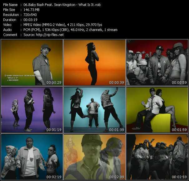Baby Bash Feat. Sean Kingston video screenshot