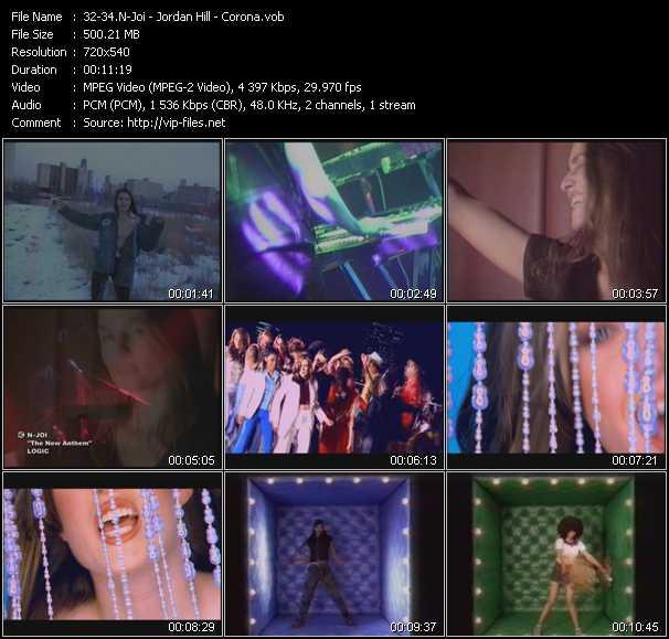 N-Joi - Jordan Hill - Corona video screenshot