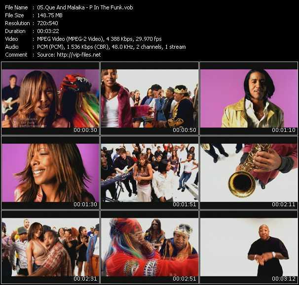 Que And Malaika video screenshot