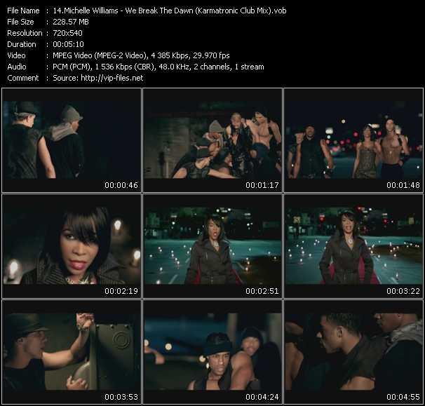 Michelle Williams video screenshot